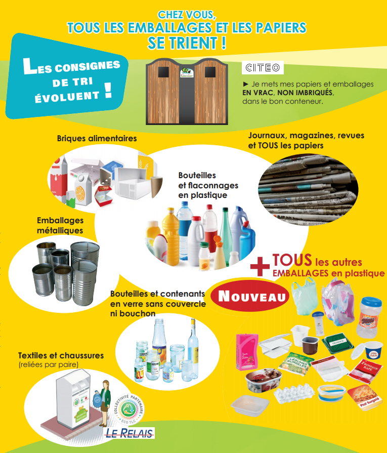 affiche recyclage normandie bray eawy